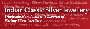 Wholesale Indian Silver Jewellery and Silver Articles Suppliers
